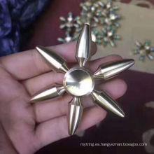 De buena calidad Venta caliente relámpago estrés Fidget juguetes Fidget Spinner Hand Spinner Smfh068