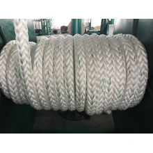 12-Strand Chemical Fiber Ropes Mooring Rope PP Rope Polyester Rope Nylon Rope