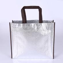 Mantimento não tecido laminado relativo à promoção reusável da sacola da compra do saco metálico para o supermercado