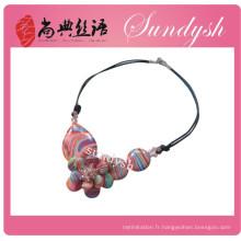 Bijoux uniques perlés à la main de corail Turquoised