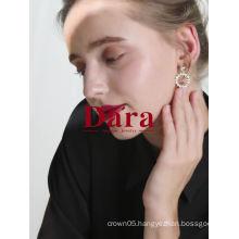 DARA Circles Women Drop Earrings with Wholesale price