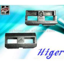peça de liga de zinco de fundição de zinco, liga de zinco