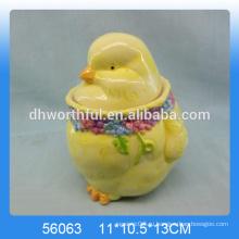 Керамическая емкость для хранения пасхального яйца