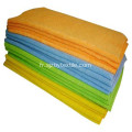 400gsm High Quality Car Stripe Fabric Towels