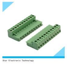 China Fábrica 11 Pin 5.08mm Passo PCB Screw Mount Terminal Block