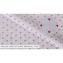 Dot und überprüfen 100 Baumwollgewebe für shirting China Lieferanten