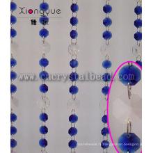Rideau en perle de cristal pour la décoration intérieure maison
