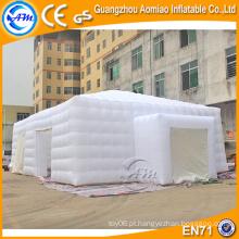 Tenda inflável branca do gramado do preço baixo grande do tamanho, barraca de acampamento inflável para a venda