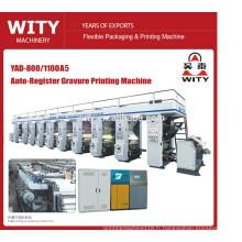 2015 Machine d'impression à rotogravure automatique à coût très rentable YAD-A5