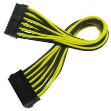 Faisceau de câbles à manches 24pin ATX Power Extension