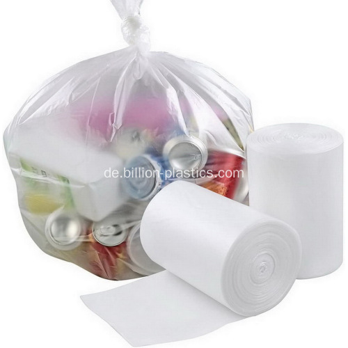 Off White Plastic Garbage Packing Bag