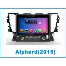 Navegación del sistema Android GPS coche DVD para Toyota Alphard con Bluetooth / TV / WiFi / MP4