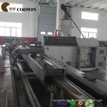 Ausrüstung für die Herstellung von WPC-Terrassendielen und Wandverkleidungen