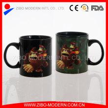 Wholesale Good Quality White 20oz Porcelain Full Color Changing Mug