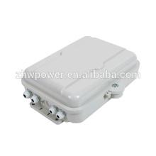 Boîte de distribution de câbles de mesure en plastique extérieur de 48 caisses, FTTH BOX, boîte de distribution FTTH