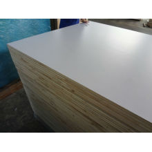 Textured White PVC / Acrylic Painted Block Board for RV Market, Polyester Blockboard