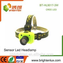Preiswerteste Großhandels3W beste lange Strecke cree XPE LED Sensor Scheinwerfer 3 * aaa batteriebetriebene geführte Scheinwerfer