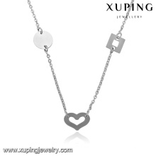 43433-xuping fashion cheap bulk jewelry coin necklace jewelry