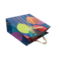 Color art paper shopping bag