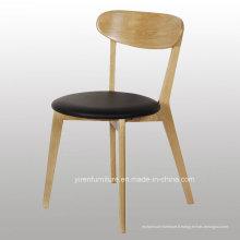 Chaise haute en bois massif Quanlity avec siège souple