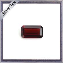 Excellent Emerald Cut Natural Garnet Precious Gemstone