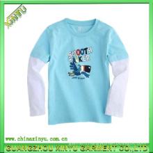 2016 Wholesale Light up Plain Cotton Kids T Shirts