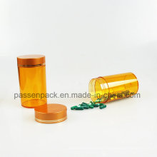 Leere Haustier-Plastikkapsel-Flasche, Plastik-pharmazeutischer Behälter (PPC-PETM-005)