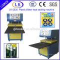 2 рабочих пластиковых блистер и машина для термосварки картона