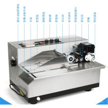 MY-380F Automatic Solid Ink Expiry Date Coding Machine, Batch Number Printer for bags