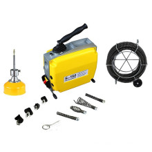 S150 400W portable sewer drain cleaner with low noise,user-friendly
