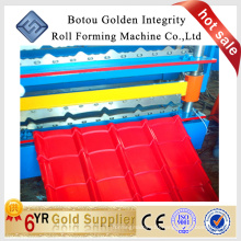 JCX 840 glazed tile roof roll forming machine
