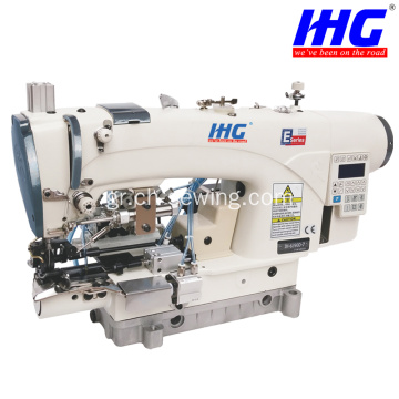 IH-639D-5P / 7P Κλειδαριές Bottom Hemming Machine