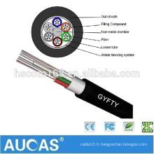 Câble optique à fibre optique multimode 4 core de haute qualité