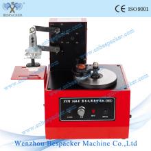 Máquina de codificação semiautomática da garrafa do animal de estimação da almofada