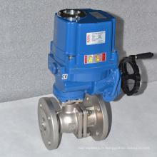soupape de commande de flux électrique à haute pression ss304