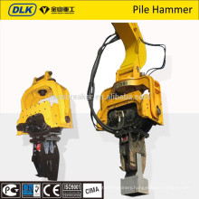 DLK brand excavator mounted vibro hammer from china suppler