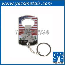 engrave metal key chain bottle opener