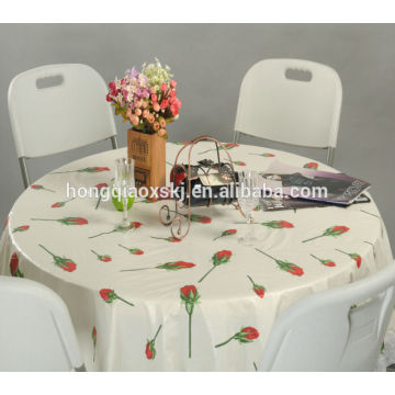 4FT Round Folding Table Banquet Table