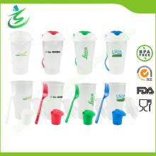 Ensemble de tasse de salade BPA gratuit pour fruits et légumes