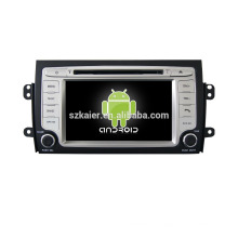 Quad core! Dvd del coche con espejo link / DVR / TPMS / OBD2 para 7 pulgadas de pantalla táctil quad core 4.4 sistema Android Suzuki SX4