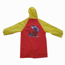 Kids Lovely Cartoon pvc eva Raincoat