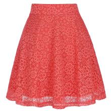 Kate Kasin Women Ladies Floral Pattern Lace Skirt A-Line Latest Skirt Design Pictures KK000445-2