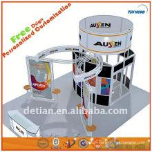 truss d'événement d'éclairage en aluminium stand, truss exposition affichage spigot truss équipement système de shanghai fabricant 001840
