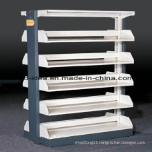 Library Wood Rack, School Library Bookcase, Book Shelf (FR-410)