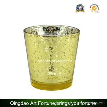 Mercury Glass Votive Tealight Candle Jar pour le décor de Noël