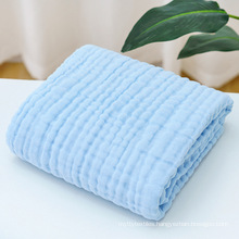 eco friendly mulsin receiving small lovey blue baby baby coton blanket blankets carpet carpets