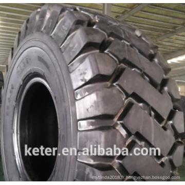 Motif chinois du pneu OTR 26.5-25 23.5-25 E3E, marque ECOLAND pour le marché de l'Asie