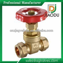 china manufacture customized good quality 200wog CW609N brass reduced gate valve for water or gas