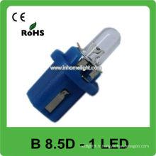 12V B8.5D lumière led bleu