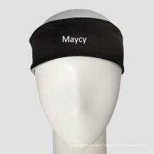 Polyester Spandex Sports Yoga Wrist Headband with Printed Logo